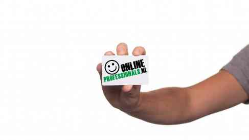 Business Card Online Professionals | Online Professionals | OnlineProfessionals.nl