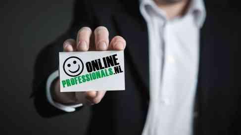 Online Professionals | OnlineProfessionals.nl | ZZP | MKB | Freelance | Besloten Vennootschap BV | Service | Support | Bedrijfsondersteuning | Interim Management | VOF | Eenmanszaak | Opdrachten | Projecten | Business Card | Zakelijk