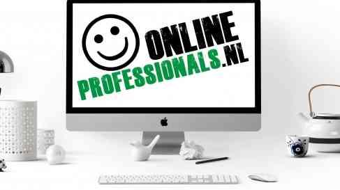 Computer | Logo OnlineProfessionals.nl | Business | Zakelijk | Online Professionals